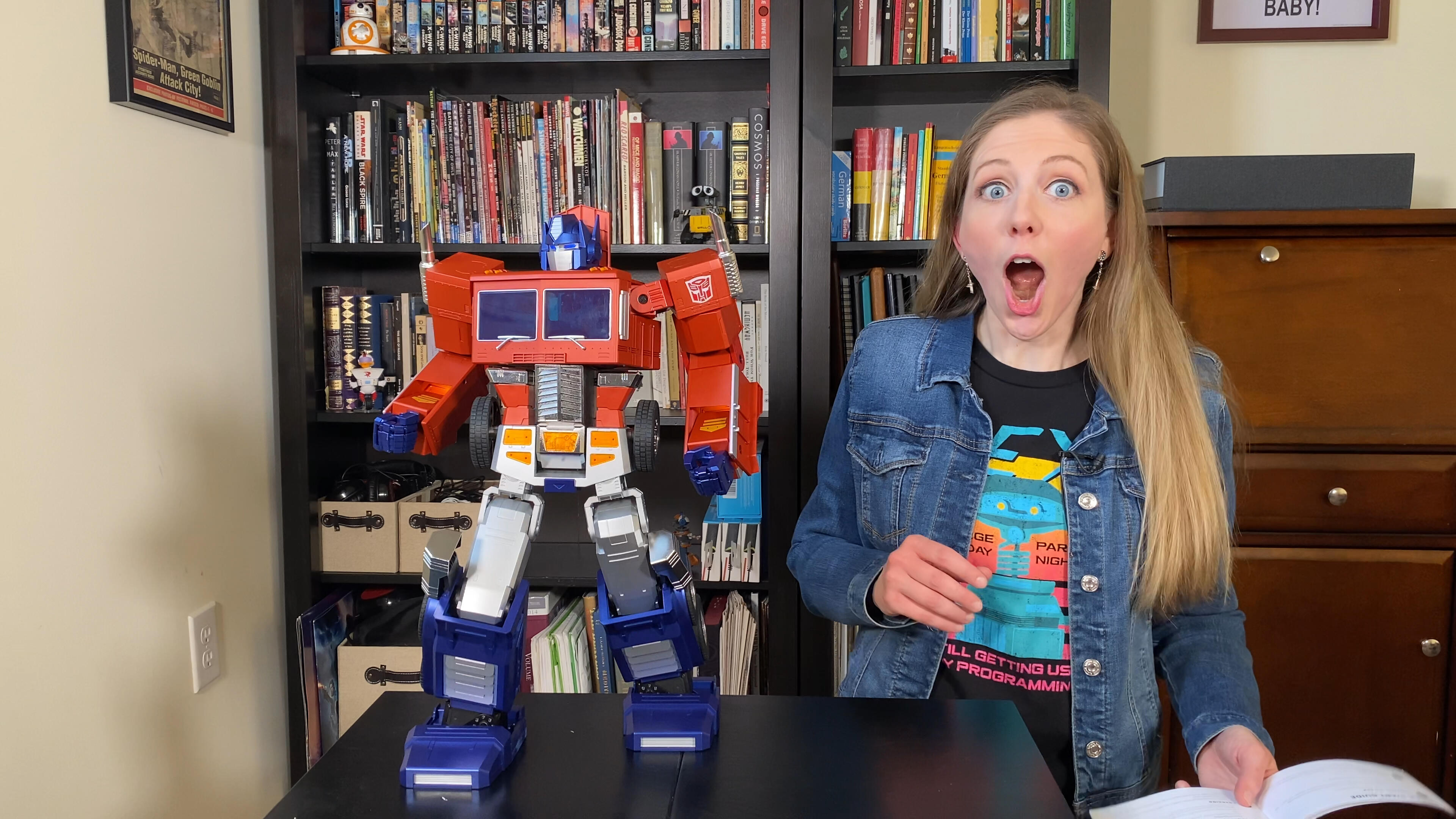 Video: Watch this Transformers robot actually transform on its own