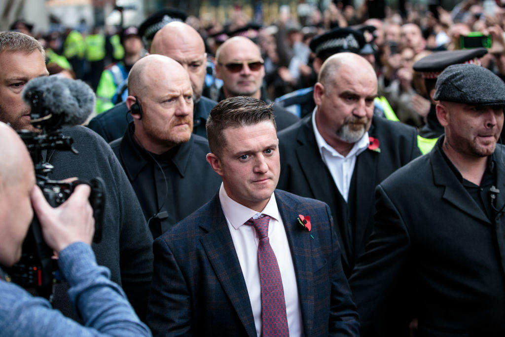 Tommy Robinson Appears in Court in Contempt Charges