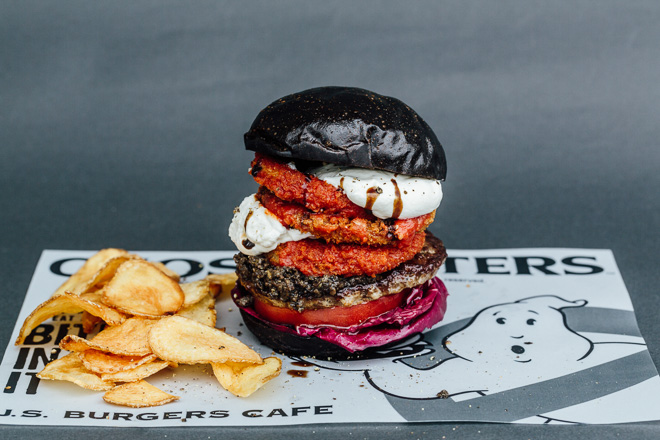 Ghostbusters burger