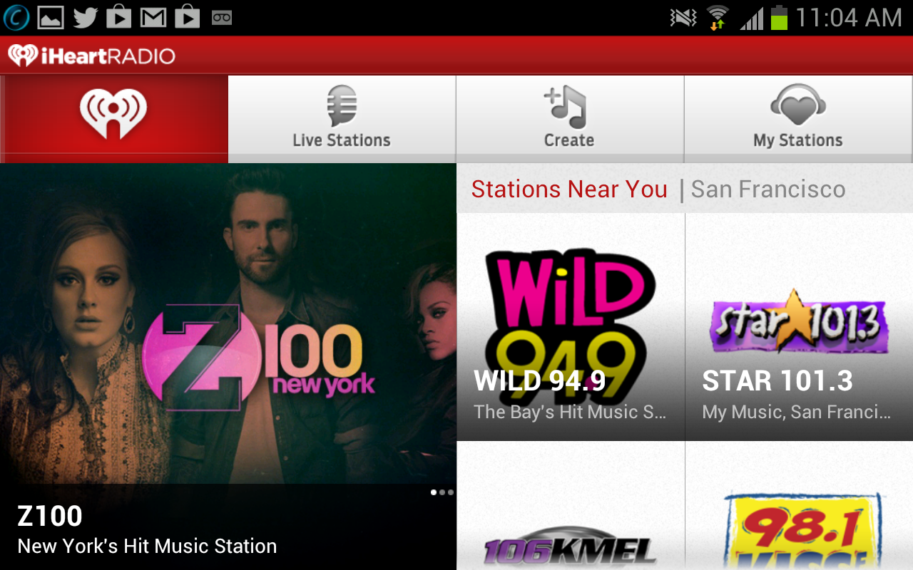 iHeartRadio for Android