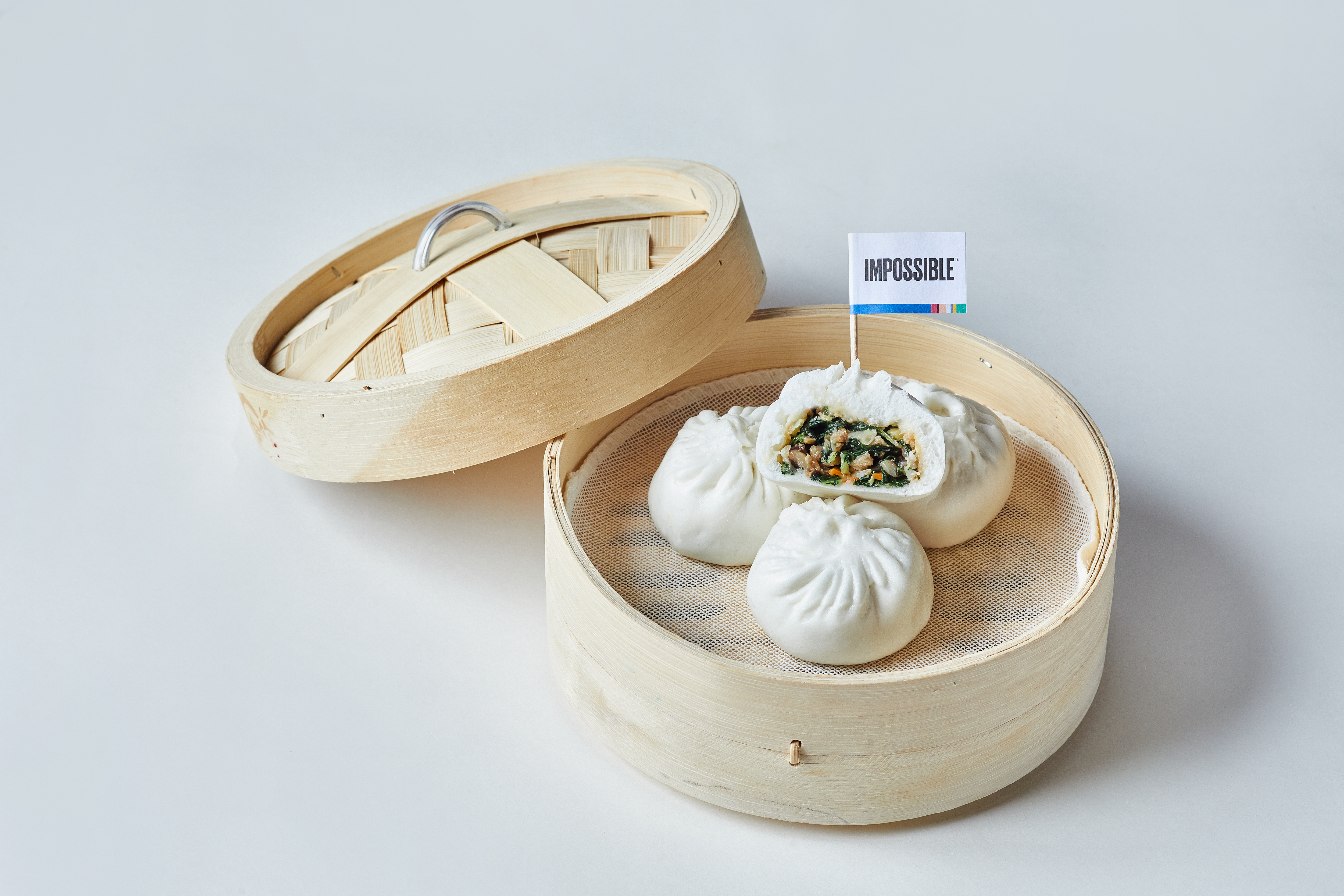 steamed-vegetable-bun-with-impossible-pork-and-mushroom