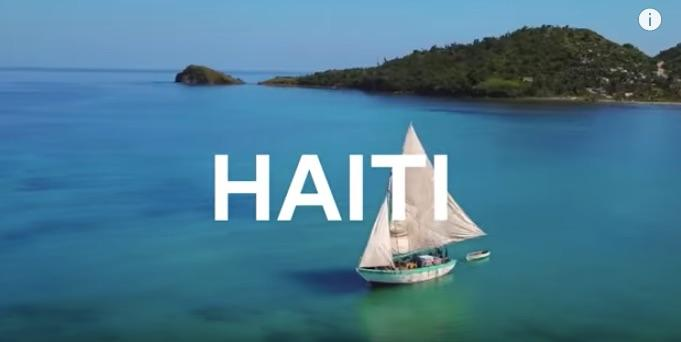 A view of Haiti, from the Airbnb ad.