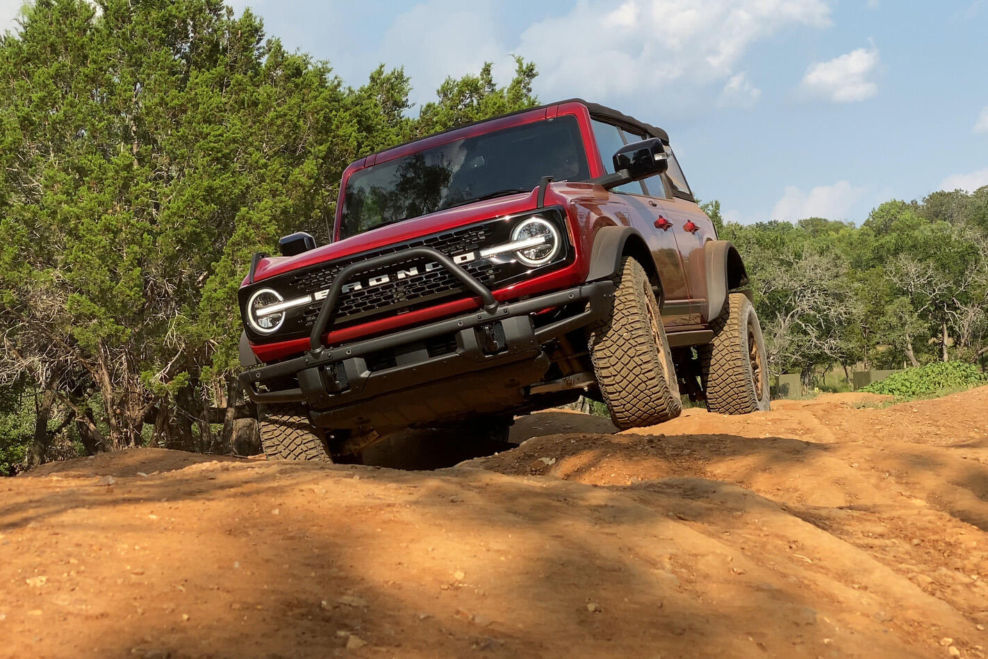 2021 Ford Bronco - four-door off-roading