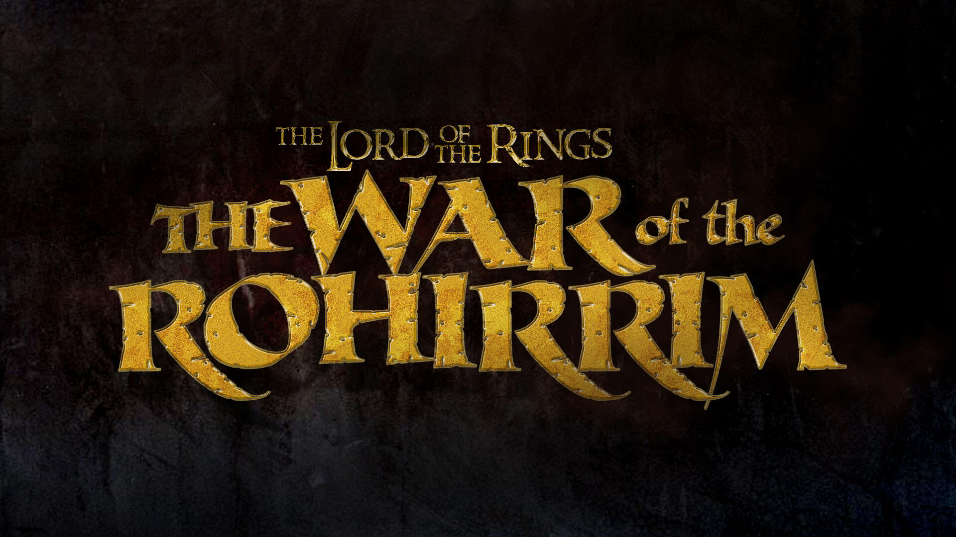 Lord of the Rings War of the Rohirrim anime