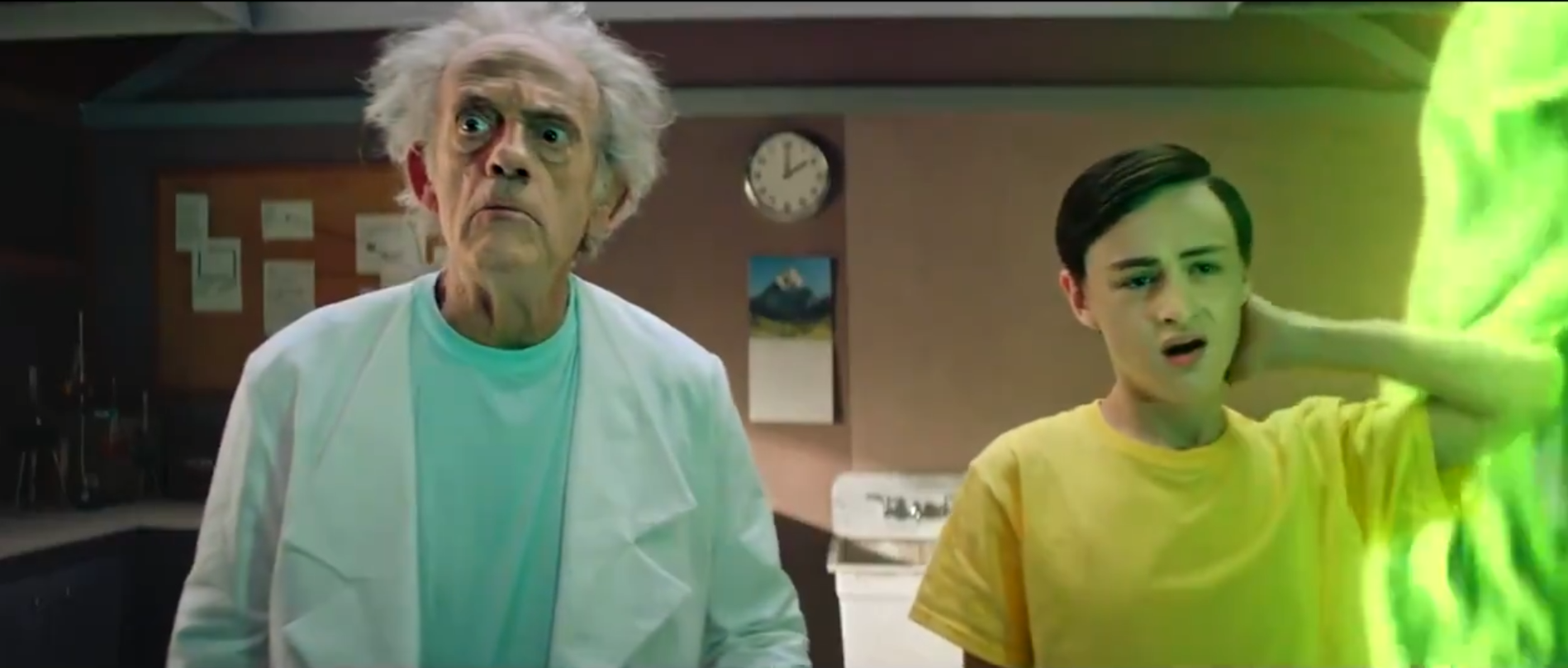 Rick and Morty Season 5 teaser features Christopher Lloyd in the part he  inspired - CNET
