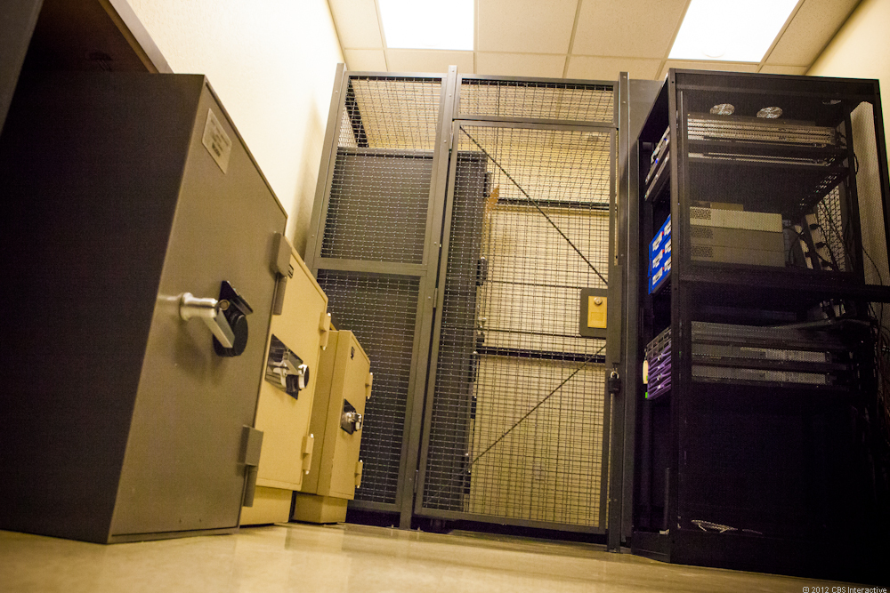 Some of the most sensitive data on the Web is housed in these safes guarded by Symantec's Certificate Authority operations -- digital keys used for authenticating Web sites so people can trust that the site they are on is legitimate.