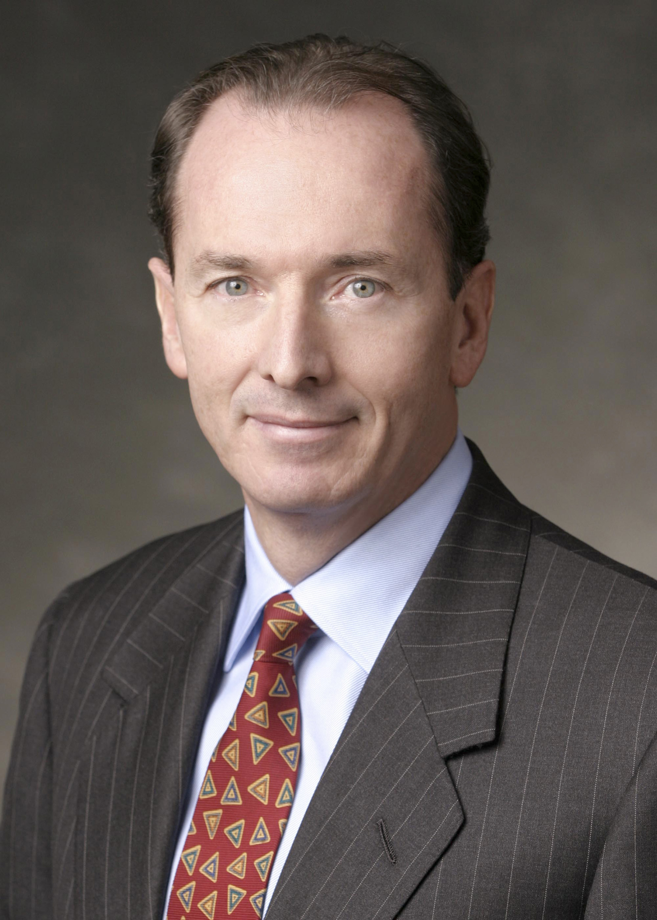 Morgan Stanley President and CEO James P. Gorman. Also going to have a good week.