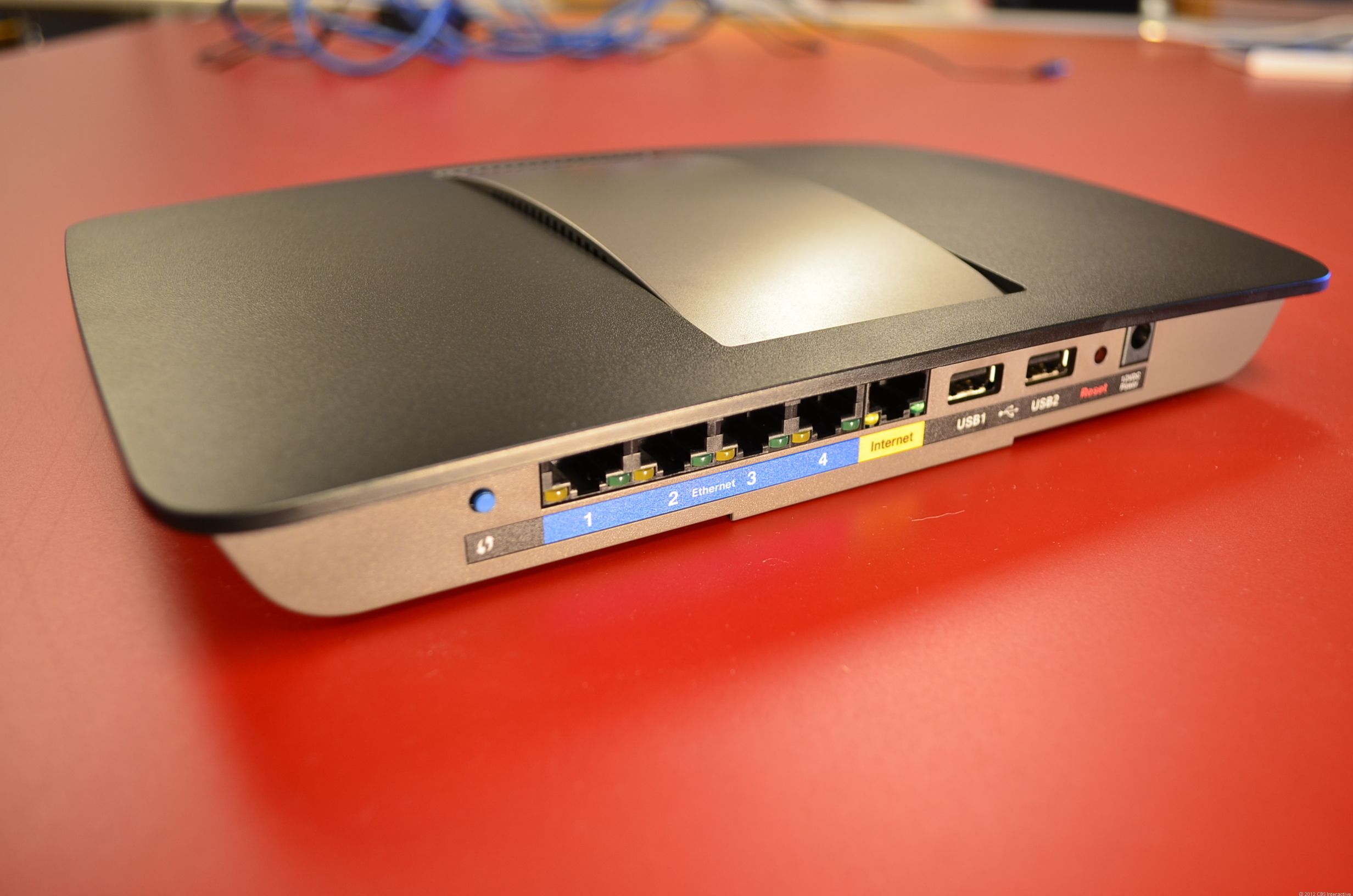 A Smart Wi-Fi router in the EA series from Linksys.