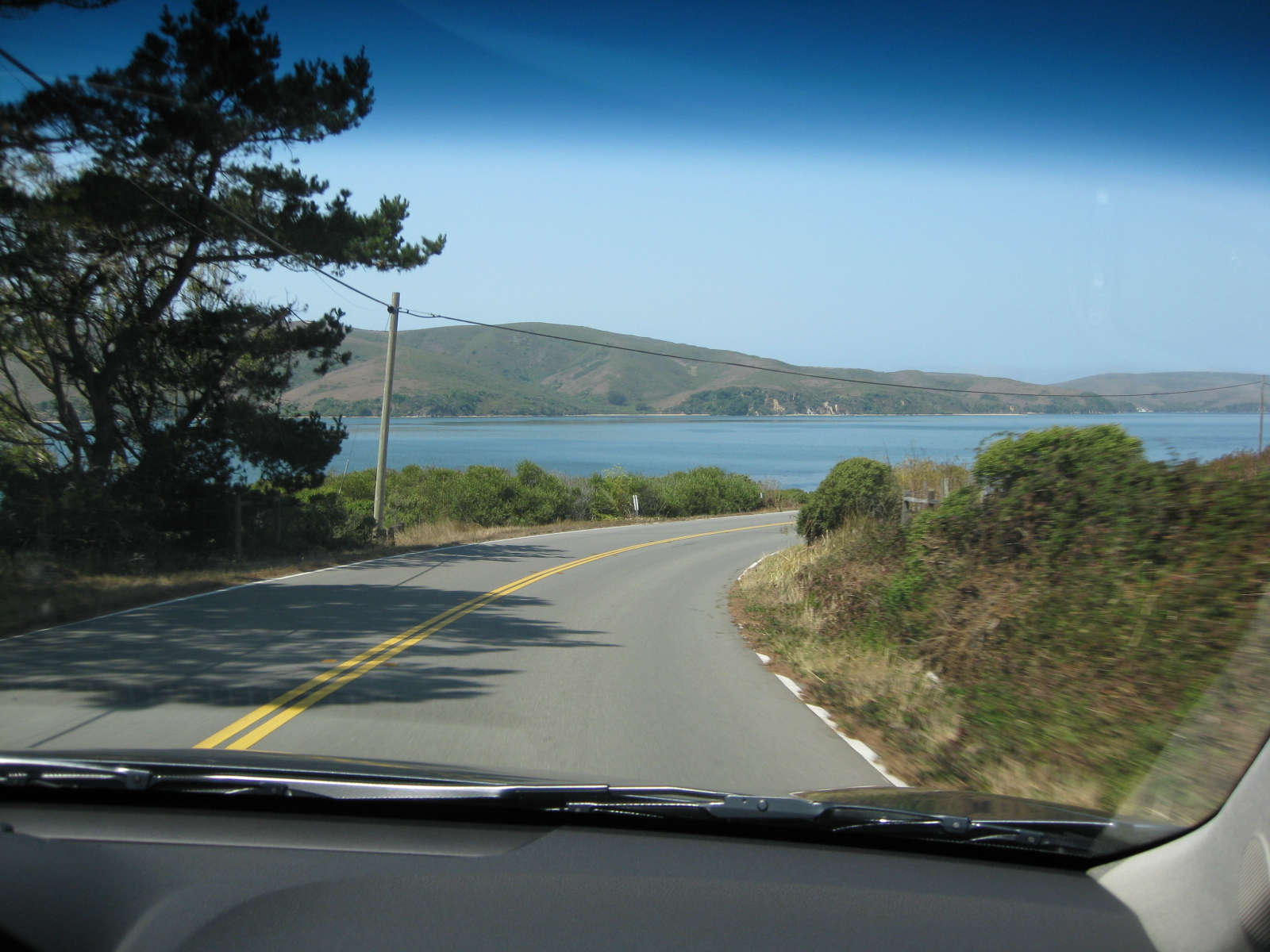View from the 2009 Acura TL
