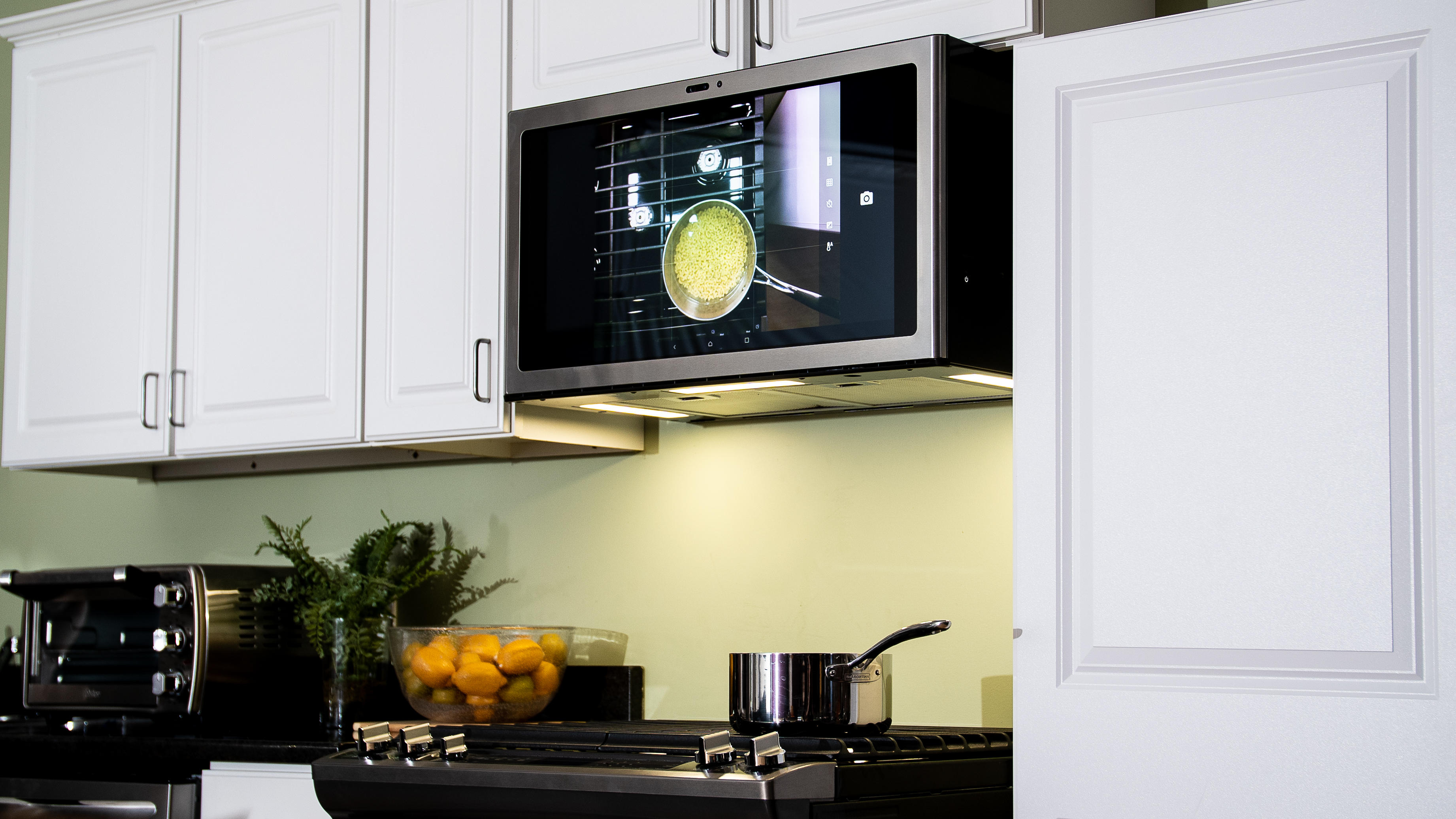 This 27 Inch Android Touchscreen Is Coming For Your Kitchen Cnet