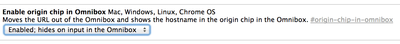 People who want to try the origin chip feature on their own can do so on Chrome by going to chrome://flags, enabling the feature for showing origin chip in the omnibox, saving the setting, and restarting the browser. Google has begun testing the feature even among those who don't enable the origin chip on their own.