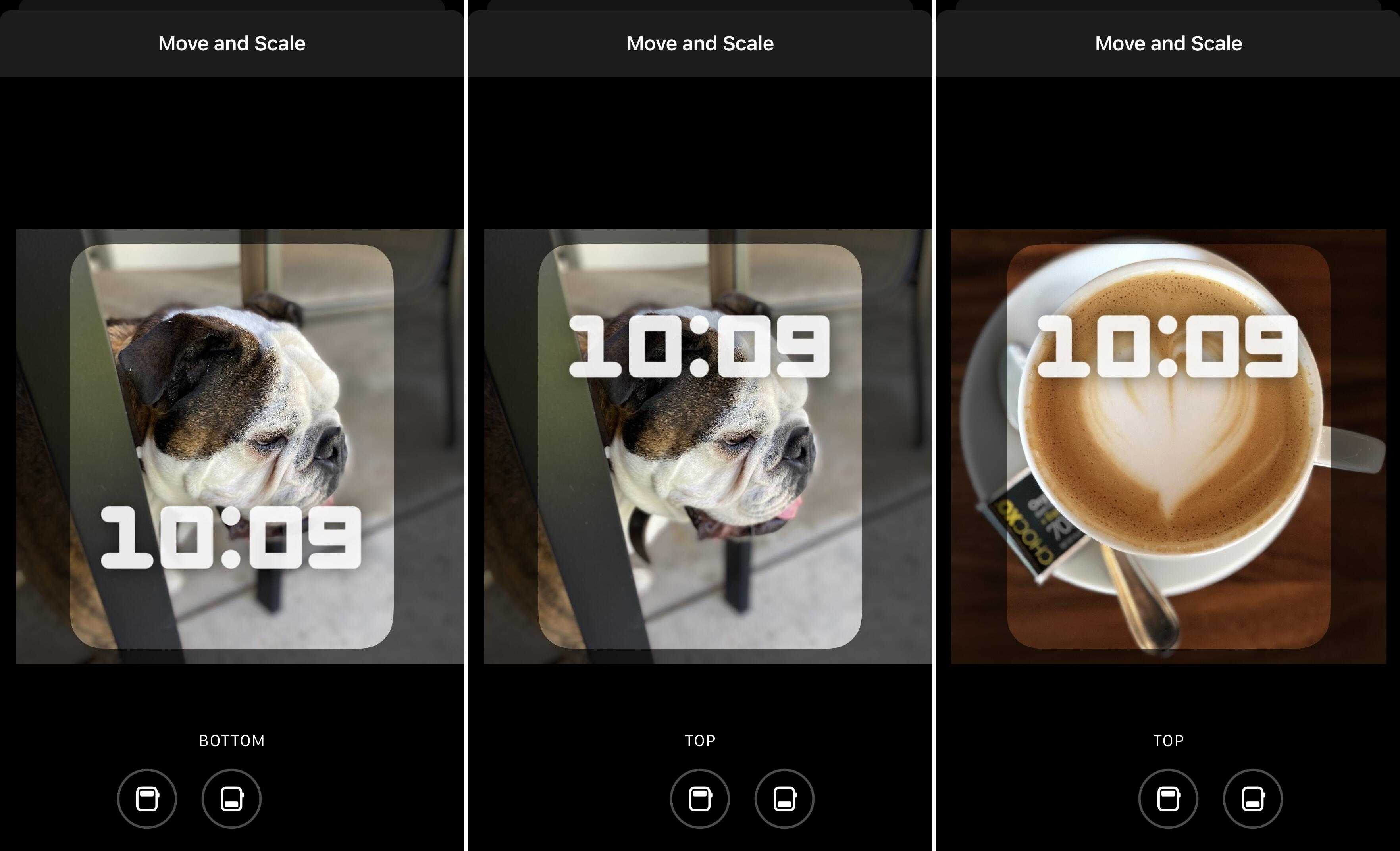 Edit your Portraits face on Apple Watch