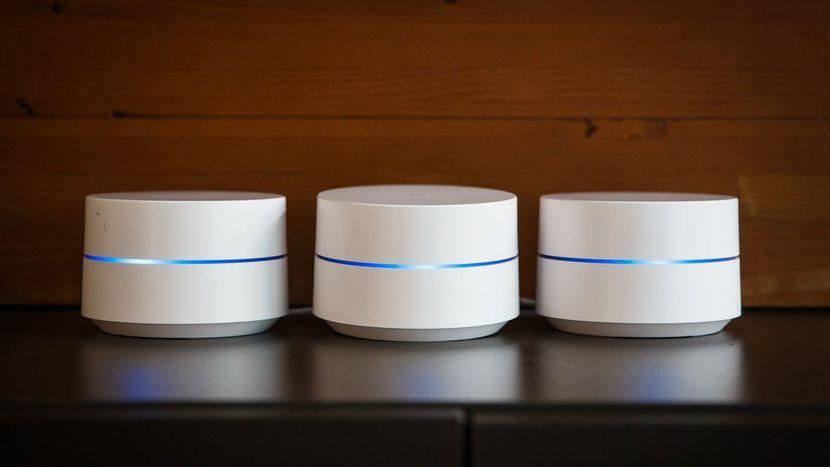 Google Home Nest Wifi points