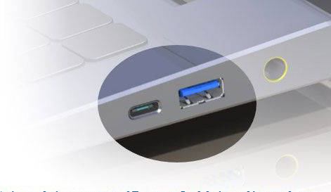 Expect new USB Type-C ports to live side by side with old-style ports for awhile.