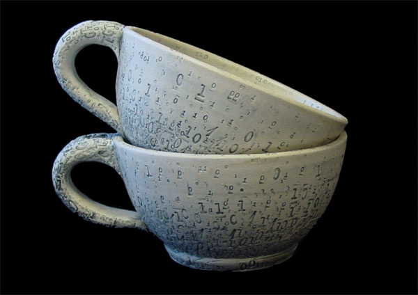 Binary soup mugs