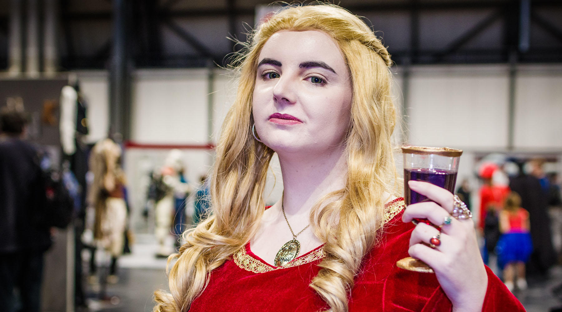 This powerful and ambitious Lannister cosplay