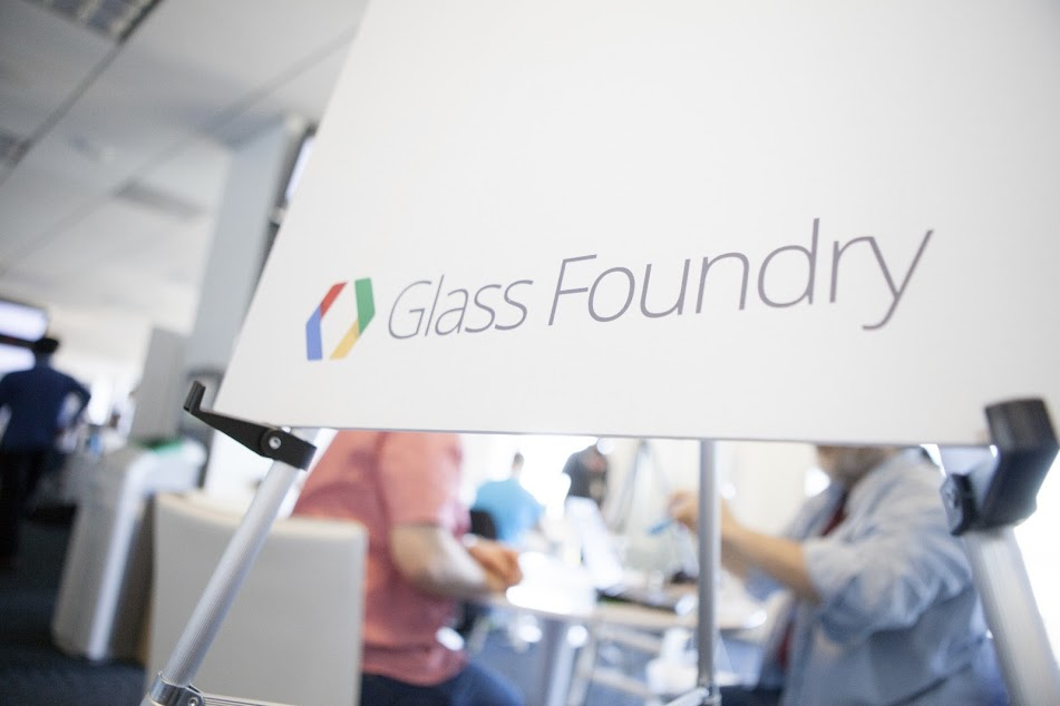 From the Google Glass Foundry event.