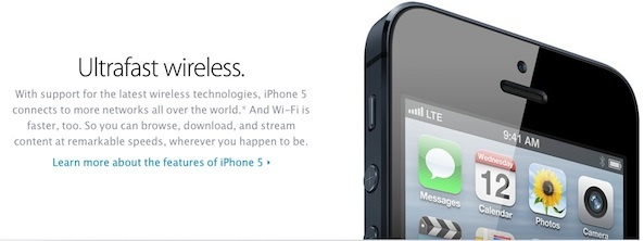 Apple's speed claims regarding wireless have proved elusive for some iOS 6 device owners.