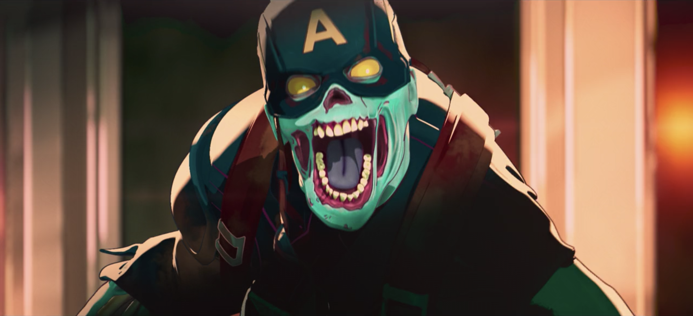 Zombie Captain America in Marvel's What If...?
