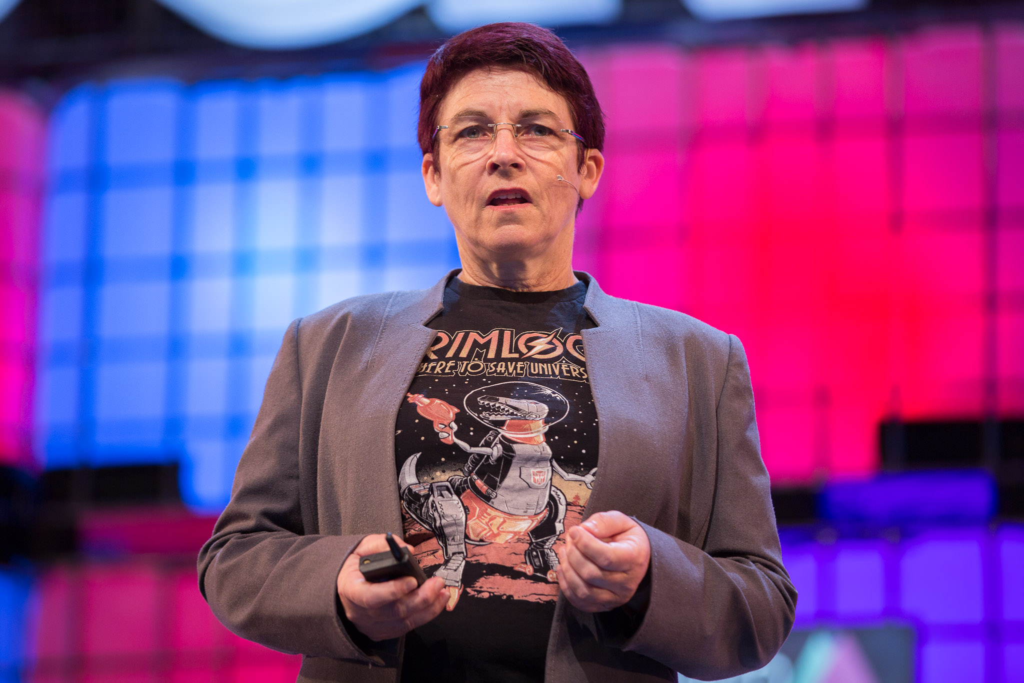 Andra Keay, managing director of Silicon Valley Robotics​