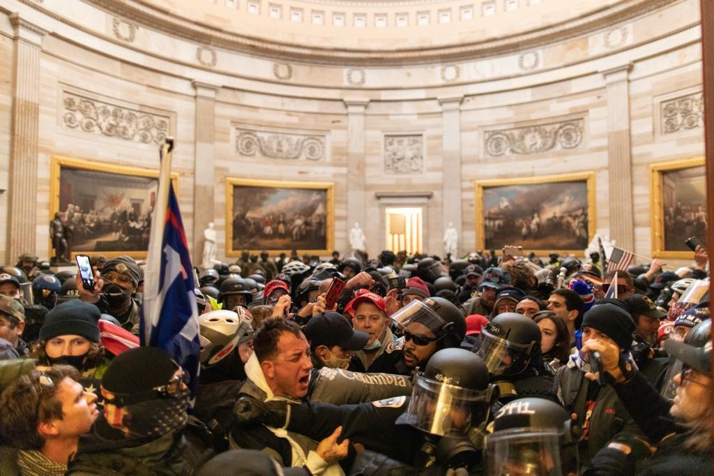 Trump supporters stormed the US Capitol