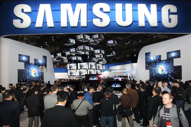 Samsung at the Consumer Electronics Show.
