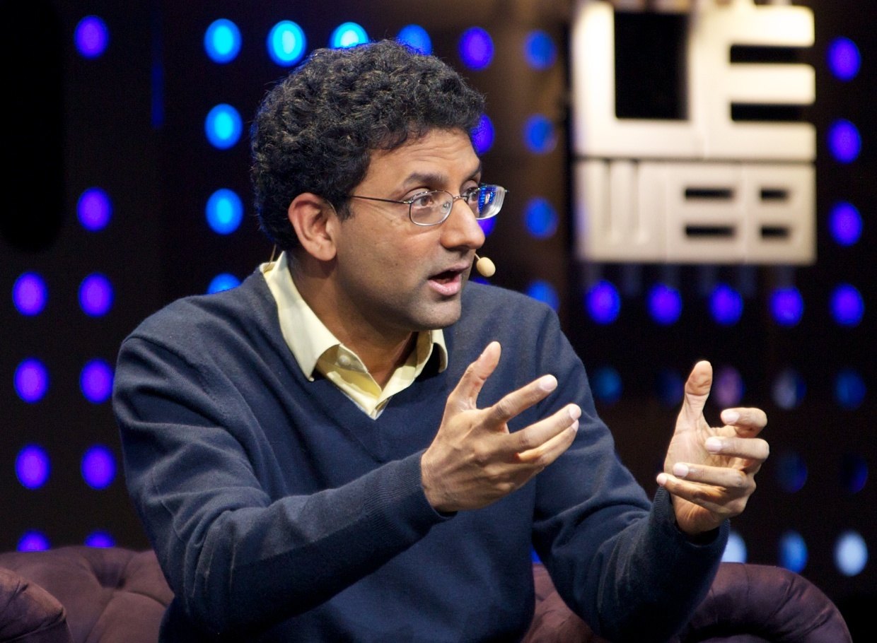Ben Gomes, Google's vice president in charge of search, speaking at LeWeb 2012.