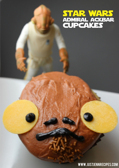 Even Admiral Ackbar would agree no one could repel the cupcake tastiness of this magnitude!
