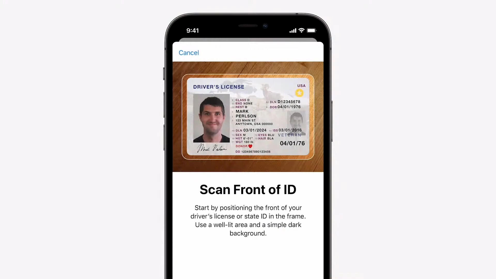 Video: Add your driver's license to Wallet with iOS 15