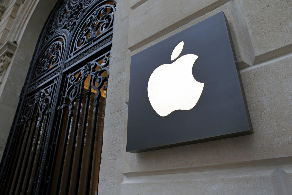 New Apple Store Opens At The Champs Elysee In Paris