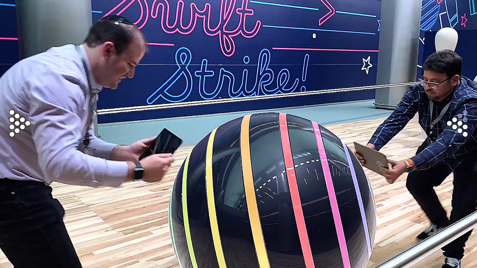 Video: Apple's new two-player AR arcade game at WWDC is crazy