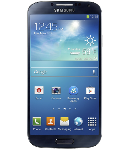 The Galaxy S4 packs a Samsung Exynos 5 Octa processor.  Questions were raised about benchmarks that pit the Lenovo K900, with an Intel chip, versus the Galaxy S4, with an ARM chip.