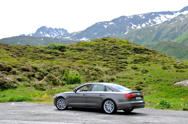A6 3.0 TFSI and the Swiss Alps