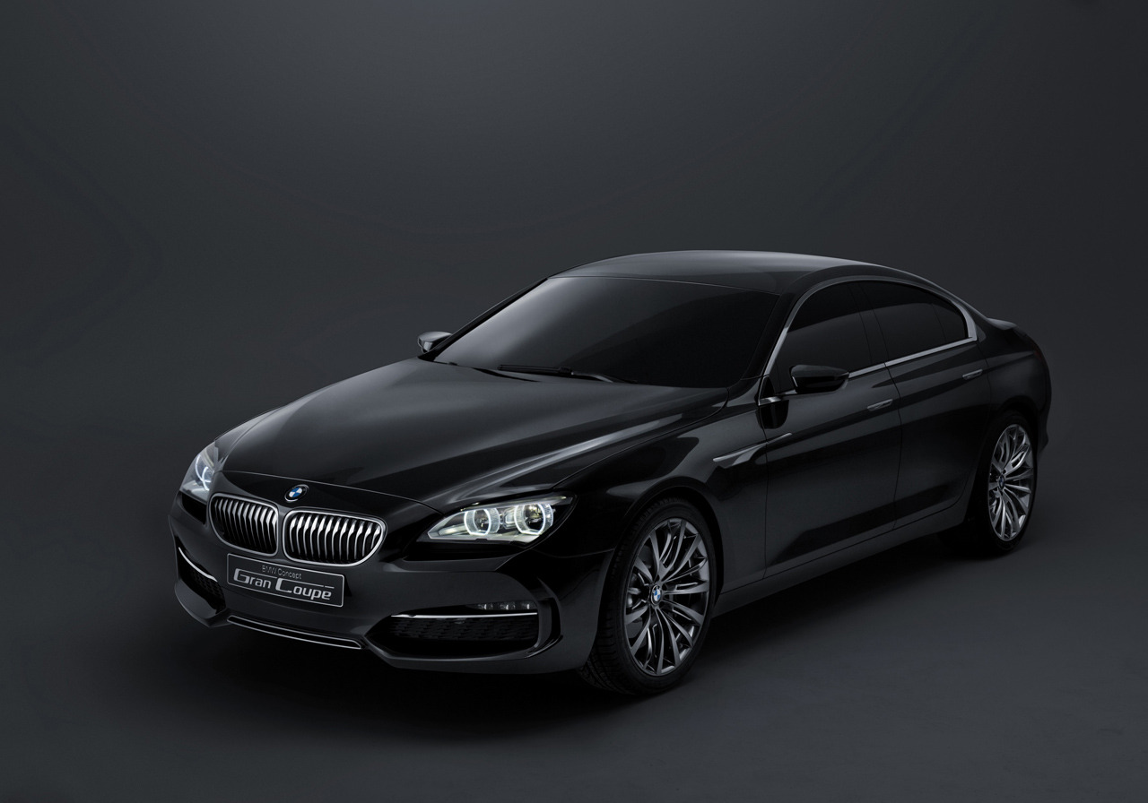 BMW Gran Coupe stalks the shadows
