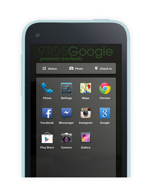 facebook home android htc
