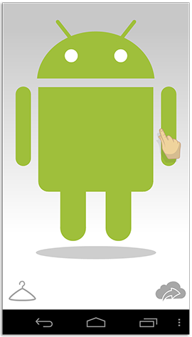 Adjust the size of your Androidified self