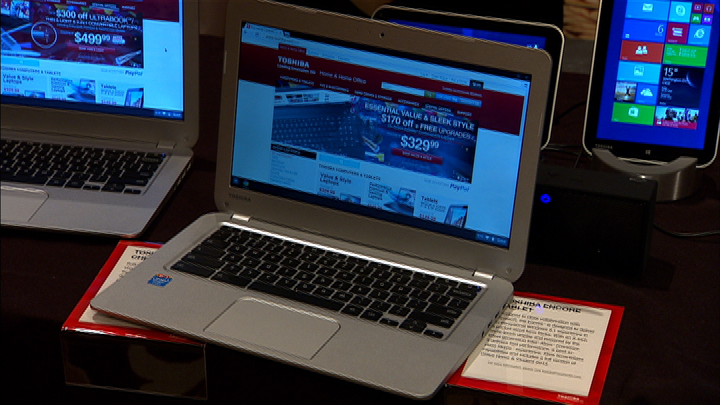 Video: Toshiba debuts the first 13-inch Chromebook