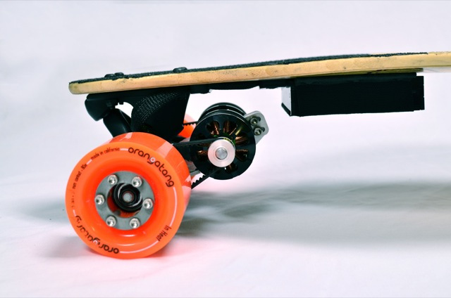 Boosted Boards close-up
