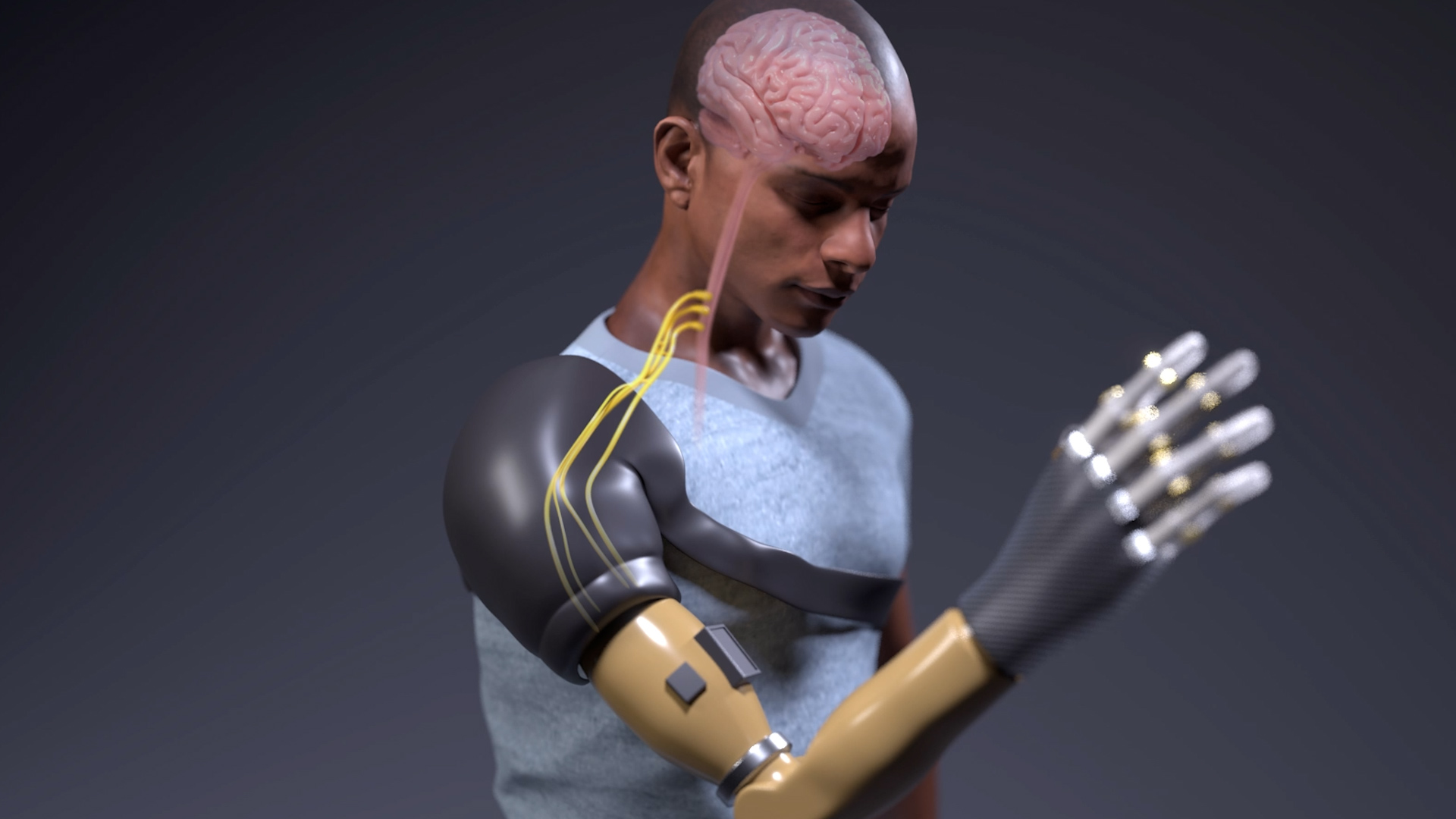 bionic | Futuristic bionic arm helps amputees feel the sensation of touch and movement | The Paradise