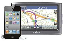 The 8GB iPod Touch and Insignia NAV01 4.3-inch GPS, together for just $204.99.