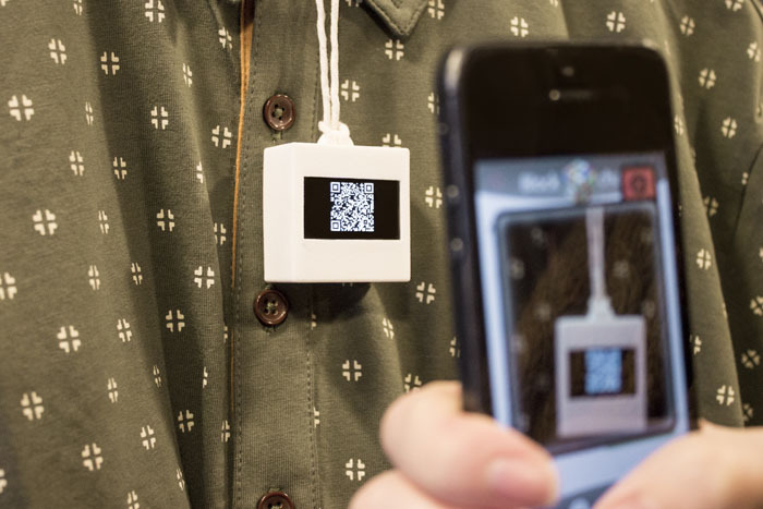 BitTag with QR code
