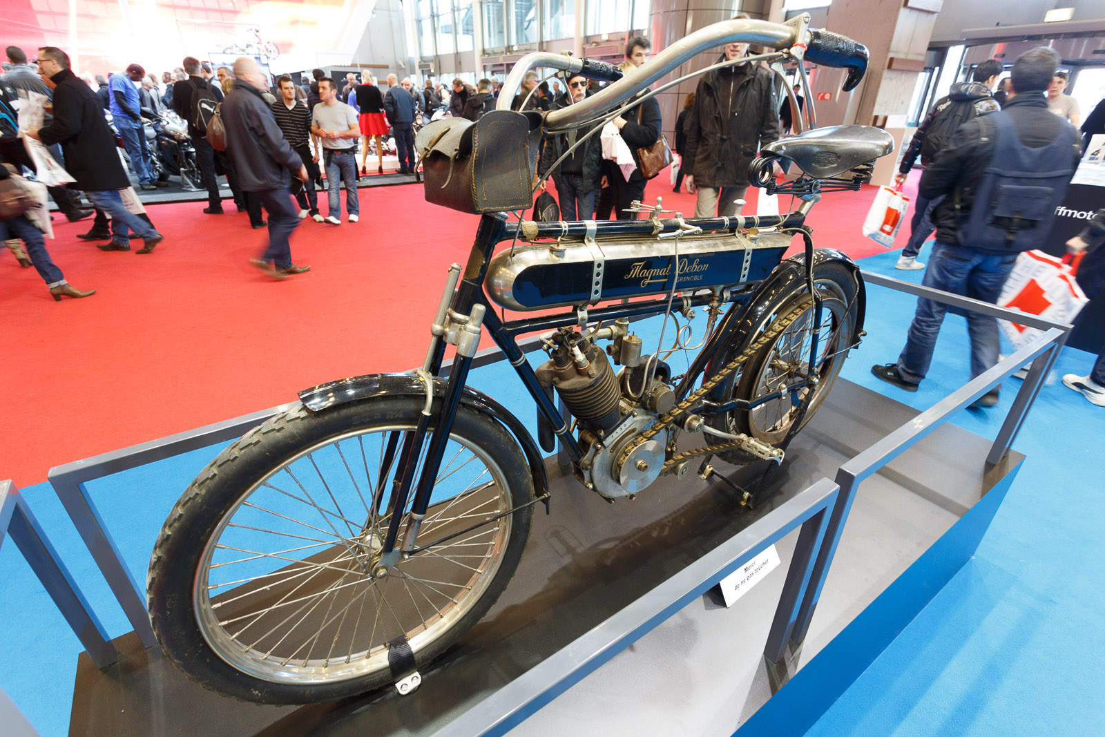 Century-old motorcycle
