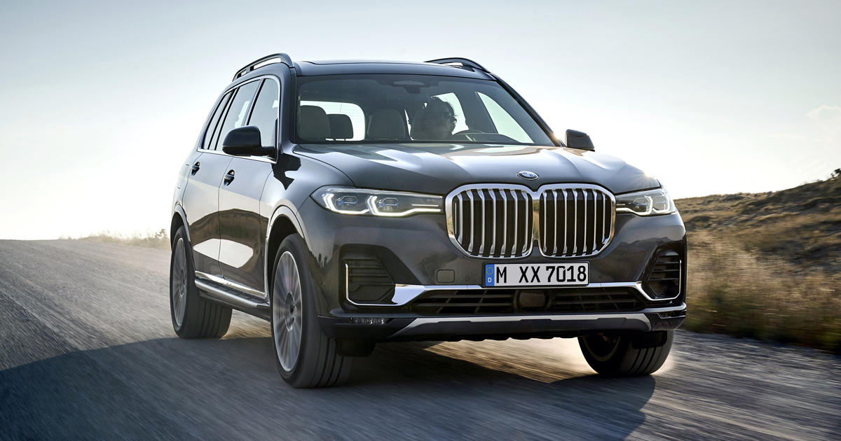 2019 Bmw X7 Is A Three Row Suv Crammed To The Brim With Tech Roadshow