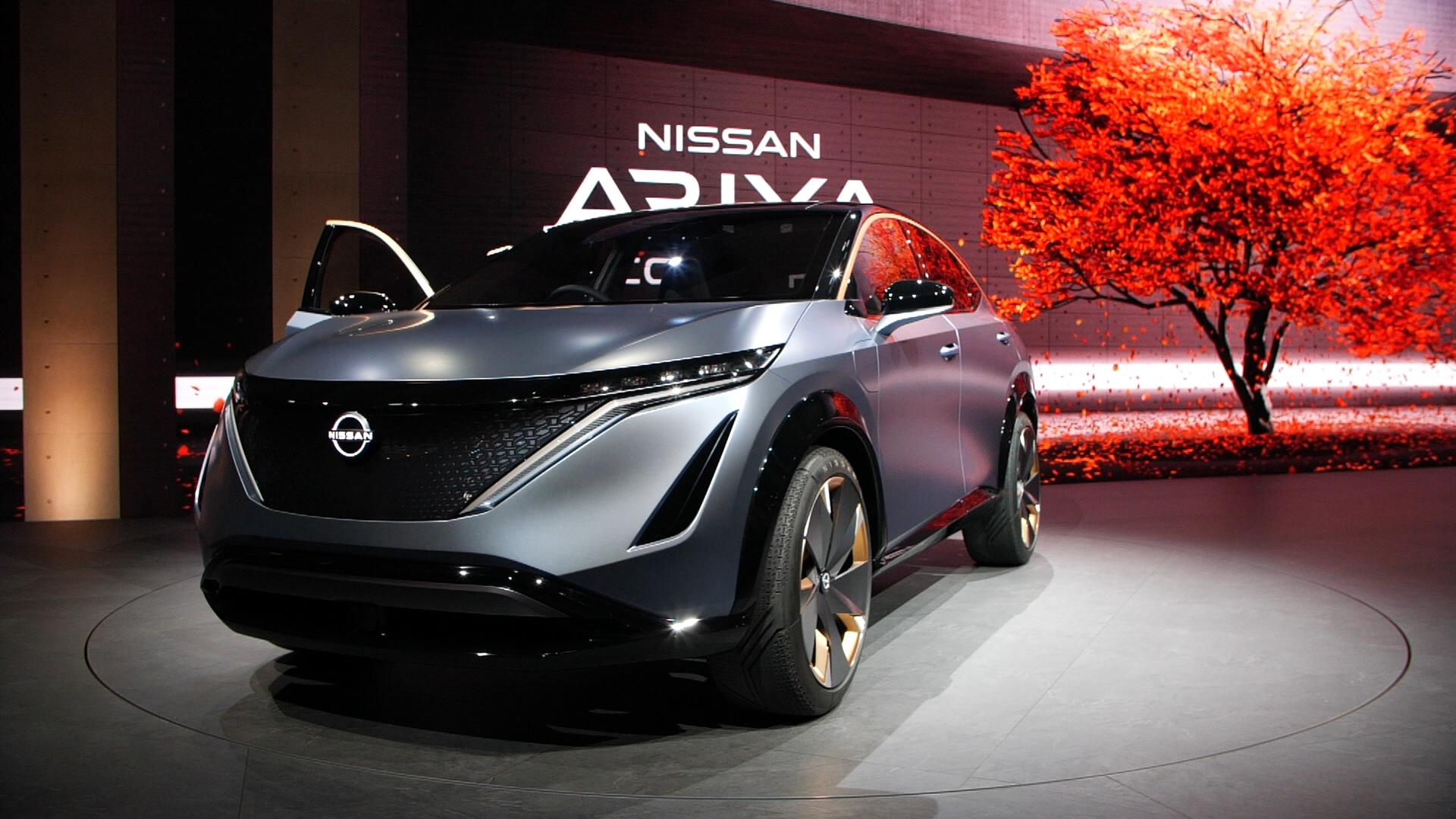 Video: Nissan Ariya concept is the shape of things to come