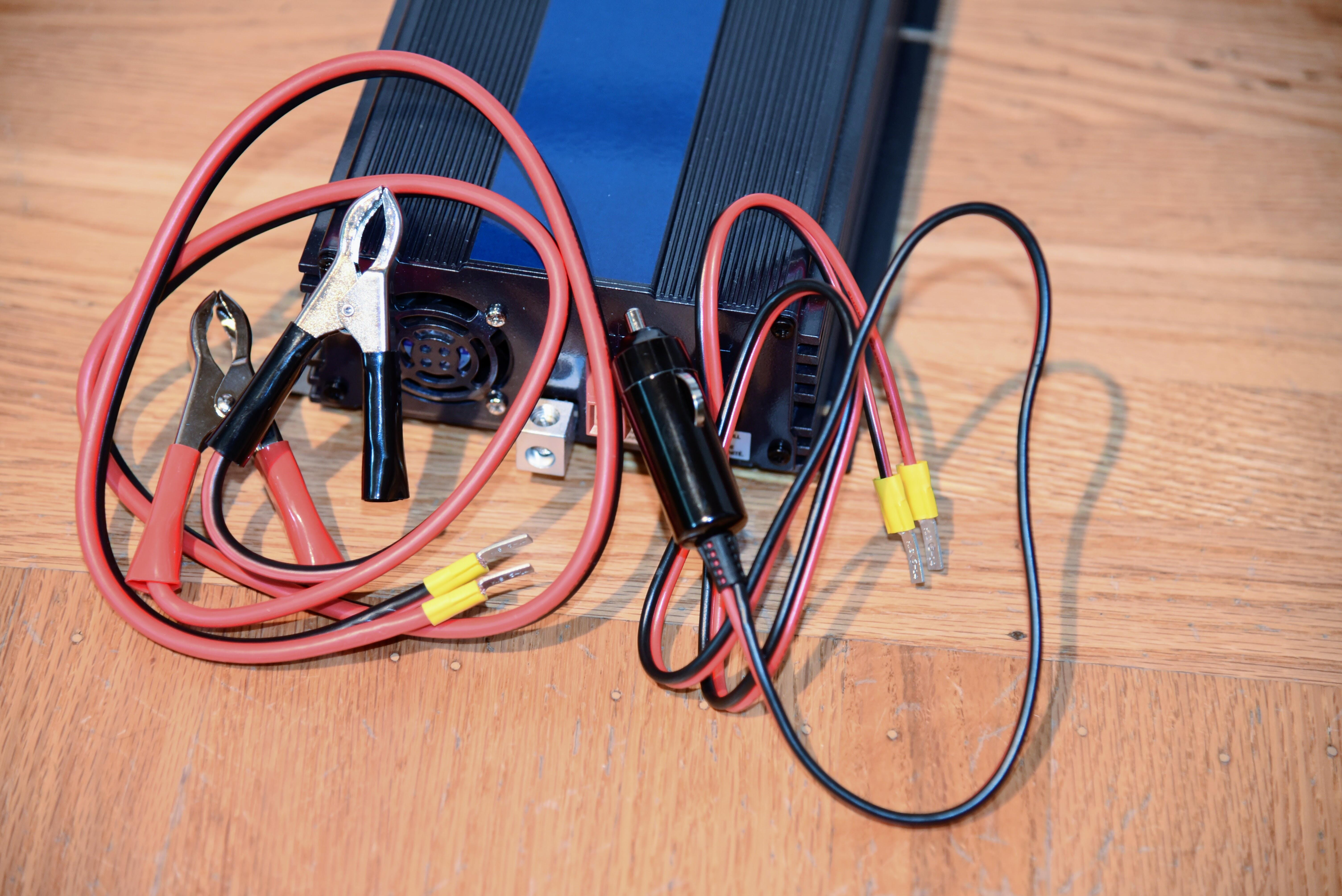 DC power inverter cables