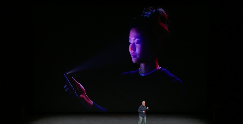 Face ID, iPhone X