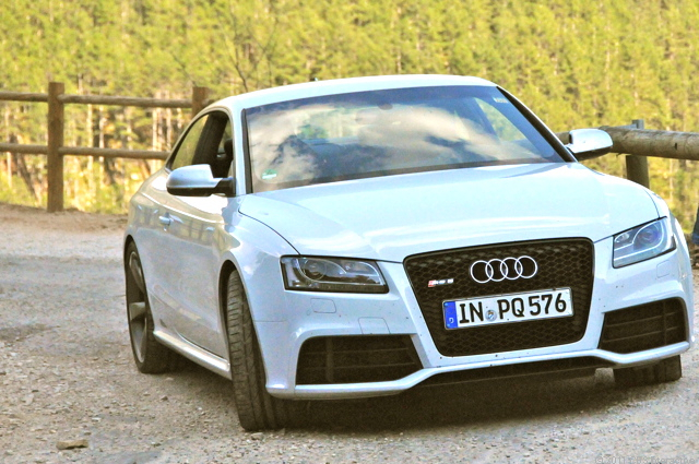 Front of RS 5
