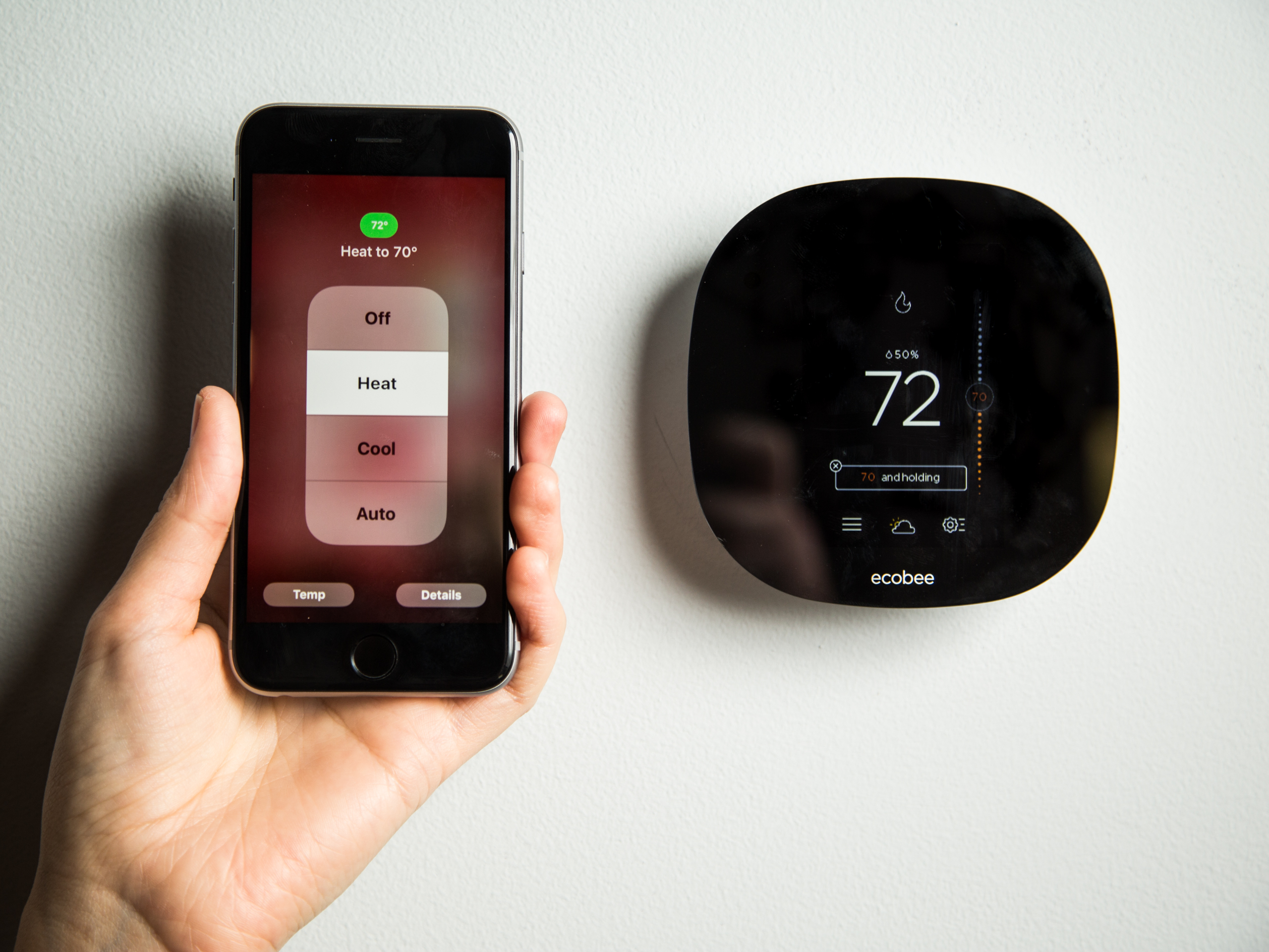 Install a programmable thermostat
