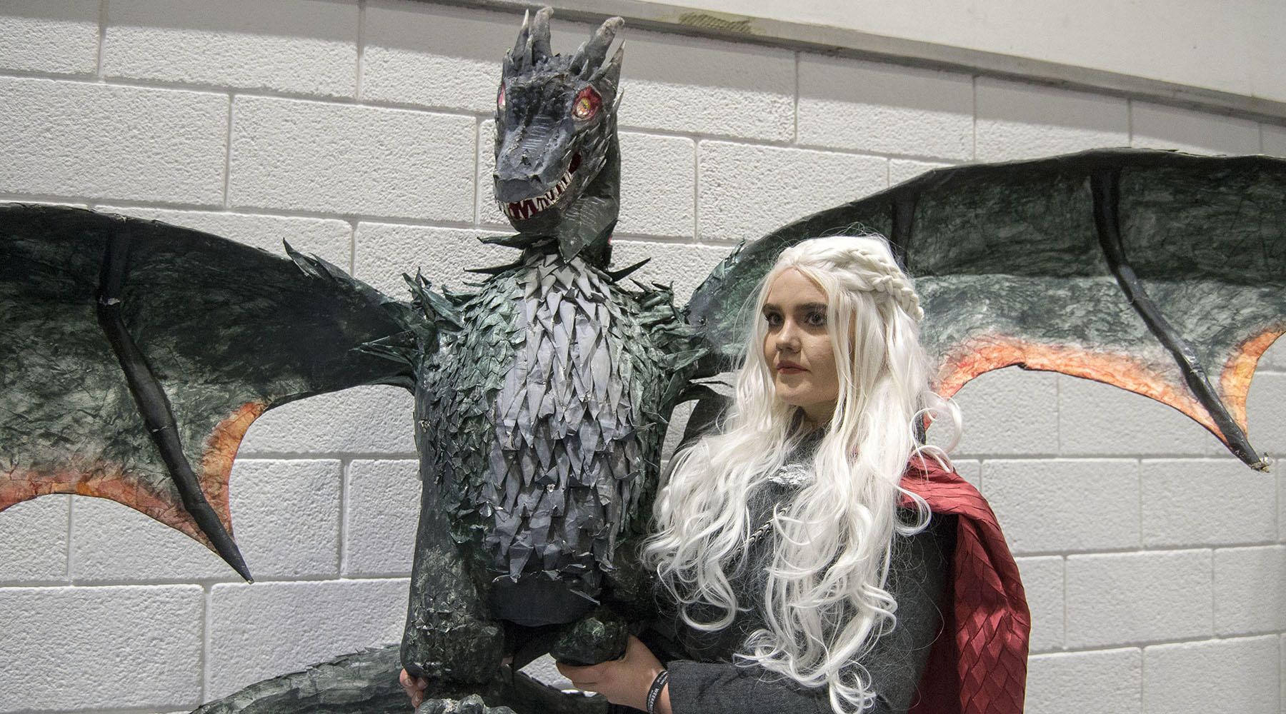 This London cosplayer with a rad puppet