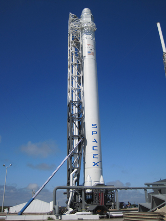 The SpaceX Falcon 9 rocket is going up to space on May 7.